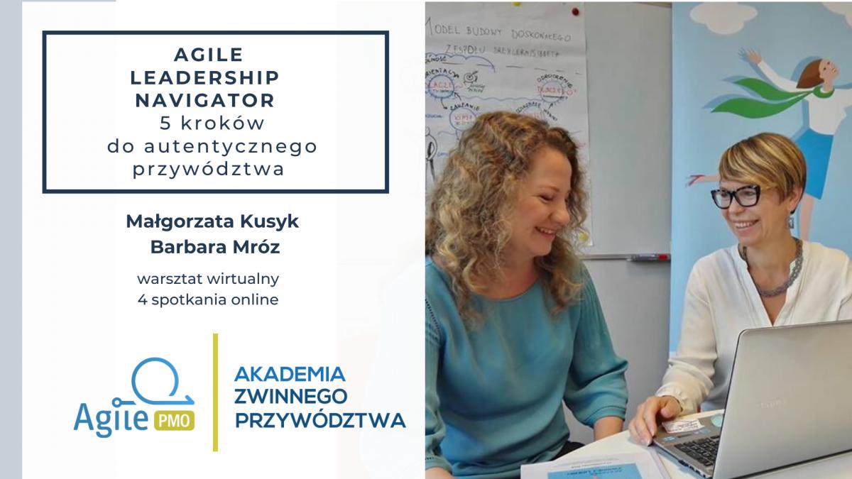 Agile Leadership Navigator warsztat wirtualny